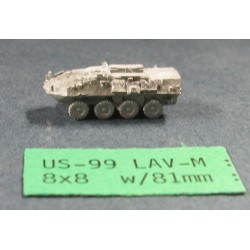 CinC US099 Lav M with 81mm mortar