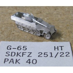 CinC G065 Sdkfz 251/ 22 Pak40