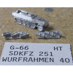 CinC G066 Sdkfz 251 / WURF 40