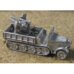 CinC G120 Sdkfz 7/ 1 8 ton with 20mm Flakvierling
