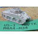 CinC US001 M4A4M34 Sherman