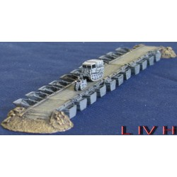 P009A 1/2 load pontoon bridge (German)