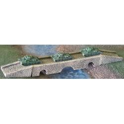 P012 Stone bridge with 3 arches