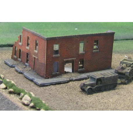 BAR008 Ruin reinforced for Infantry Defense