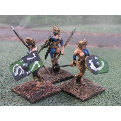 28 18P AC001 Celt Female Warrior