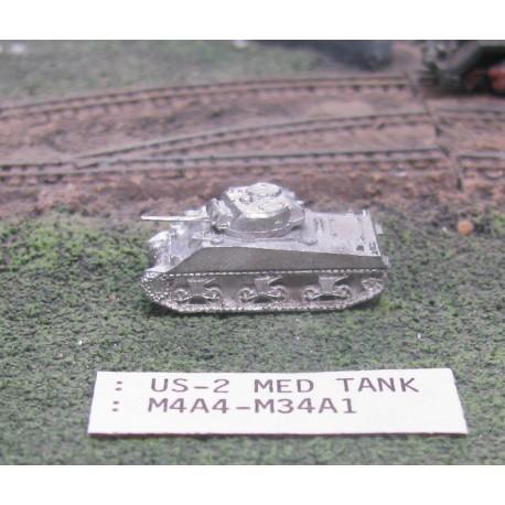 CinC US002 M4A4M34A1 Sherman