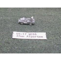CinC US017 WC55 Portee 37mm ATG